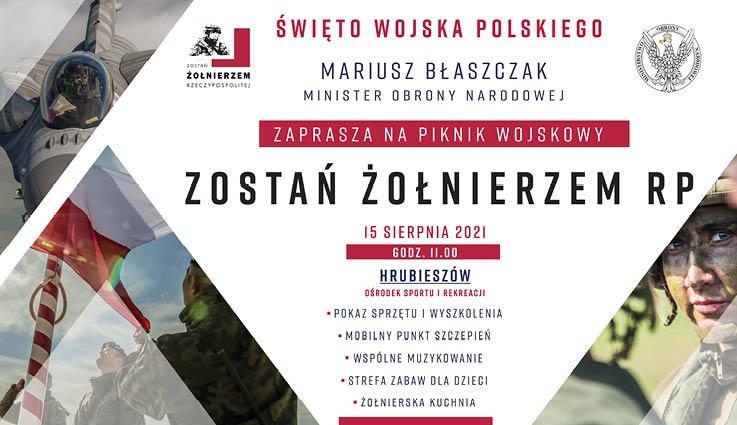 Piknik Wojskowy w Hrubieszowie z okazji Święta Wojska Polskiego