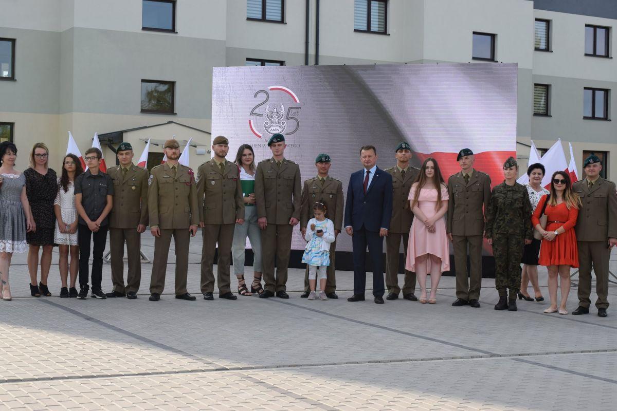 Wojsko w Zamościu otrzymało nowe mieszkania