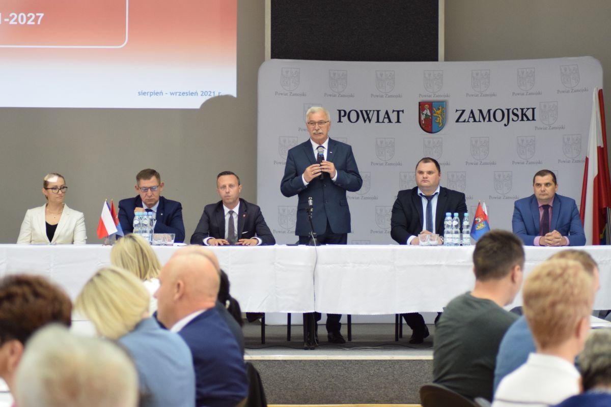 Konferencja w ramach konsultacji społecznych projektu programu Fundusze Europejskie dla Lubelskiego 2021 - 2027.